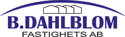 B. Dahlblom Fastighets AB Logotyp
